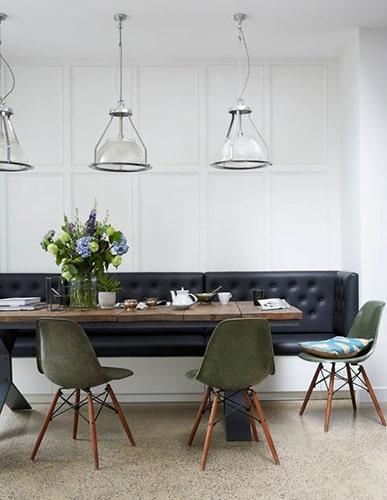 Salle à manger avec banquette Meubles Bouchiquet