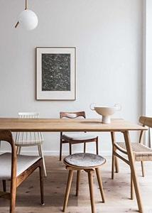 Salle à manger avec tabouret Meubles Bouchiquet