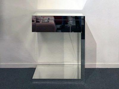 Meuble console miroir avec tiroir - Promotion