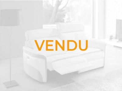 Vendu canapé relax cuir 2 places moderne Promotion