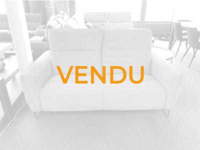Vendu canapé tissu bleu aqua clean Promotion