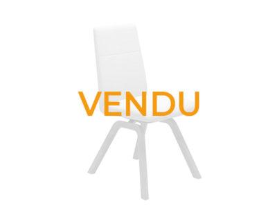 Vendu lot 2 chaises confortables dossier bas Stressless