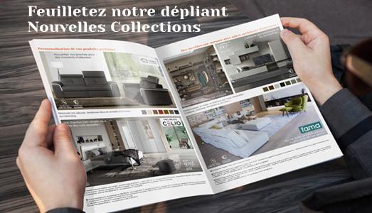 Dépliant Nouvelles collections TVA Offerte Meubles Bouchiquet Mai 2021