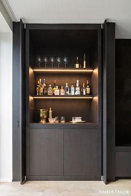 Meuble de bar sur mesure Meubles Bouchiquet Bergues