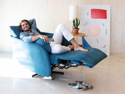 Fauteuil électrique relax personnalisable Fama Adan Meubles Bouchiquet Bergues